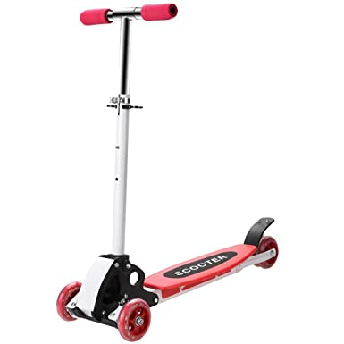 Lonlier Patinete Freestyle 3 ruedas Ajustables Scooters ...