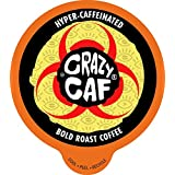 Crazy Cups, Crazy Caff Bold Coffee, for the Keurig K Cups 2.0 Brewers, 22 Count