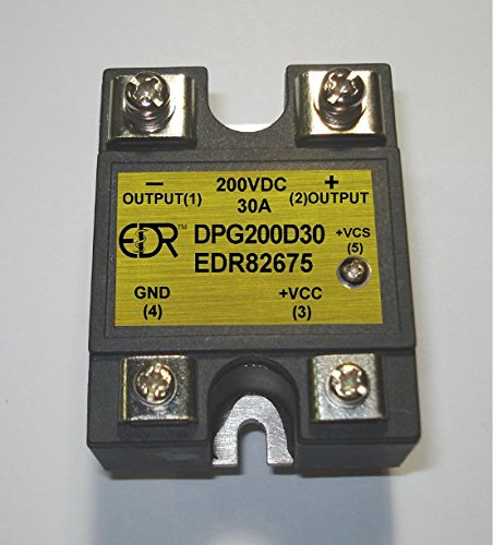 Single Pole Single Throw (SPST) Solid State Relay 200VDC/30A -Normally Opened ()
