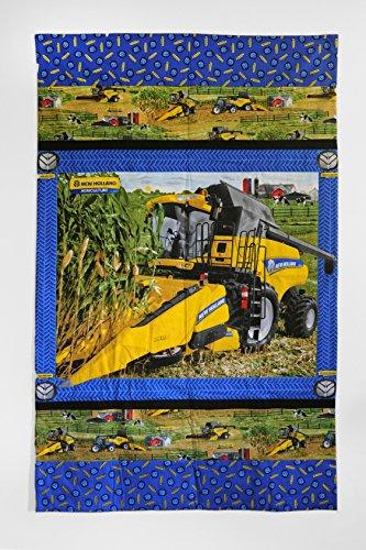New Holland Agriculture Combine Lap Quilt