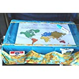 TRAYblecloth Airplane Tray Activity Cover (Red Race Cars)
