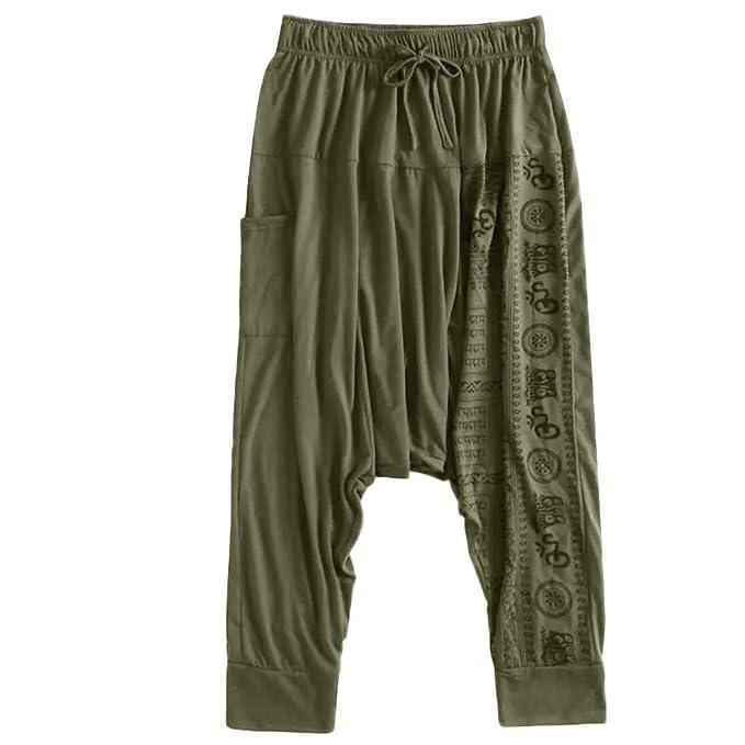 Amazon.com: Pantalones para hombre con bolsillos, talla ...