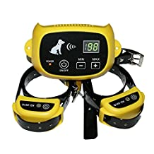 Outdoor Pet Supplies Electronic Dog Yard 100 Levels Portable Wireless Dog Fence System with Shock Rechargeble and Waterproof Training Collar for Dog Cat Small Animal
