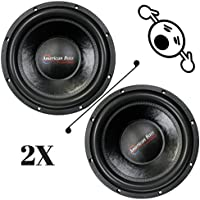 2 NEW American Bass E1544 15 4 Ohm 4800W MAX Dual 2400W RMS CAR SUBWOOFERS PAIR