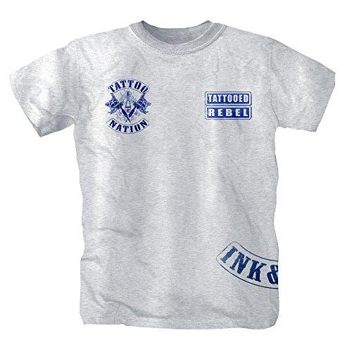 Uomo Shirtmachine T Shirtmachine T shirt shirt Grigio BTWBX