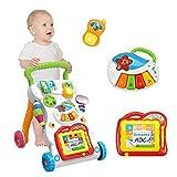 OlgaToys Baby Walker Stroller Anti-Roll Multi-Functional Infant Trolley Toys