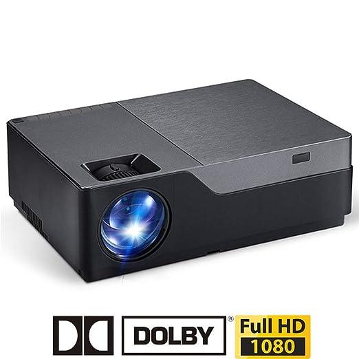 Douerye Proyector casero, resolución Full HD 1920x1080, 5500 ...