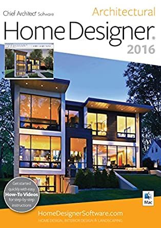Amazon.com: Home Designer Architectural 2016 [Mac]: Software