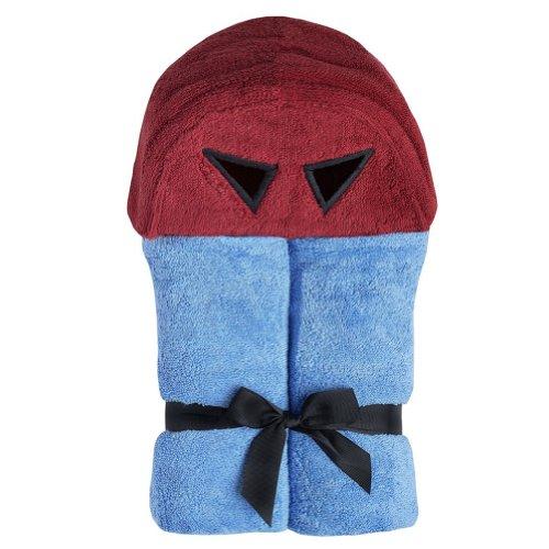Yikes Twins Child Hooded Towel- Superhero