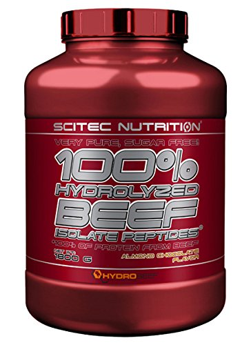 Scitec Nutrition 100% Hydrolyzed Beef Isolate Peptides proteína Chocolate de almendra 1800 g: Amazon.es: Salud y cuidado personal