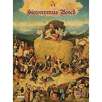 Calendario 2018 Maxi calendario artista Hieronymus Bosch ...