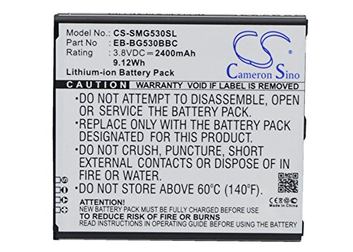 2400mAh Replacement Battery For SAMSUNG Galaxy Gran Prime Duos TV, SM-G531F - Gran Duo