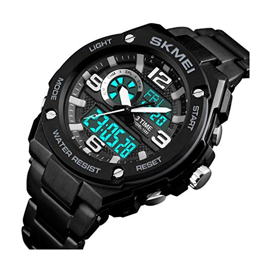 Analog Watch With Led Light in US - 8