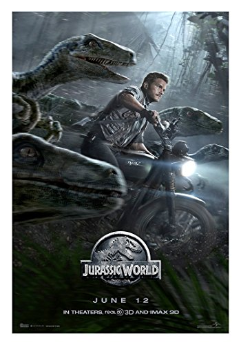 "Jurassic World Movie Poster  - Size 24"" X 36"" - This is a Ce"
