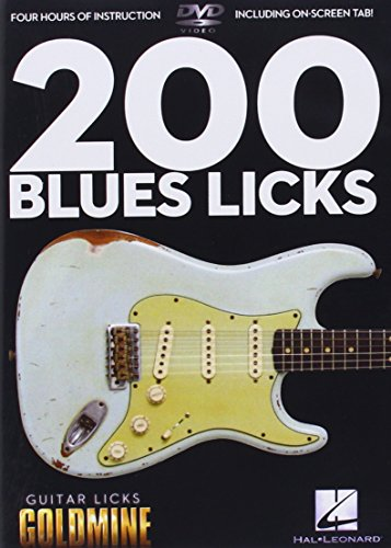 200 Blues Licks: Guitar Licks Goldmine