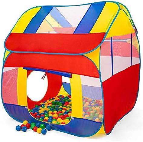 Kinderen Spelen Tent Kasteel Grote Teepee Tent voor Kids Draagbare Speelhuis Kinderen Huis voor Indoor Outdoor Gebruik met Draagtas voor Jongens en Meisjes