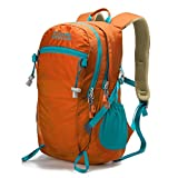Royal Mountain 20L/30L Unisex Hiking Backpack,Most Durable Lightweight Travel Backpack Daypack with Rain Cover for Outdoor Camping (Orange, 30L) For Sale