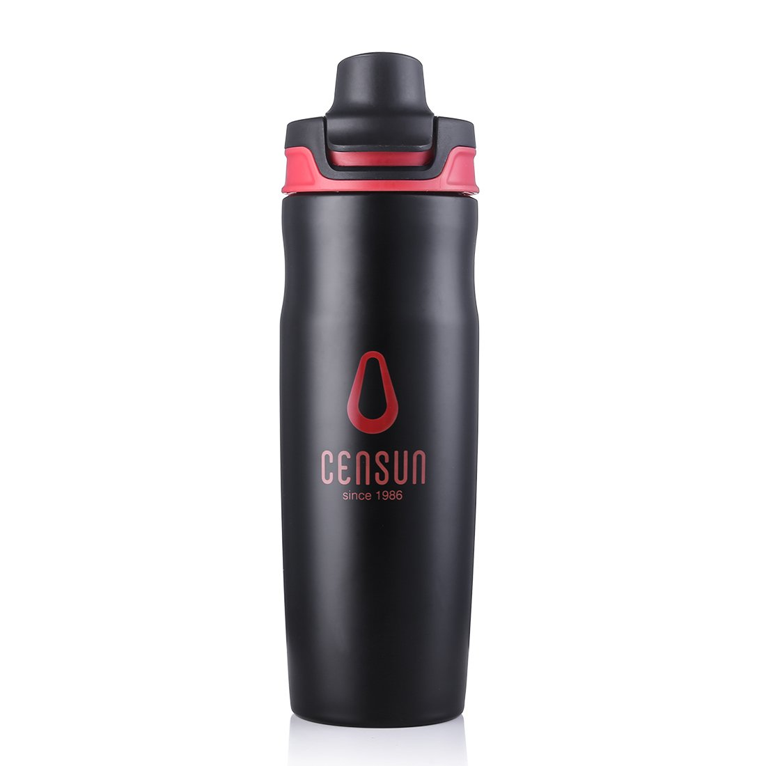 ZDZDZ 20OZ//600ML Stainless Steel Sports Water Bottle with Handle Ring 20OZ Wide Mouth Vacuum Insulated Thermos 288g