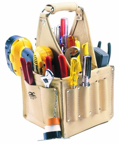 CLC Custom Leathercraft 526 Electrician's and Maintenance Tool Pouch, Heavy Duty, 17 Pocket by Custom Leathercraft