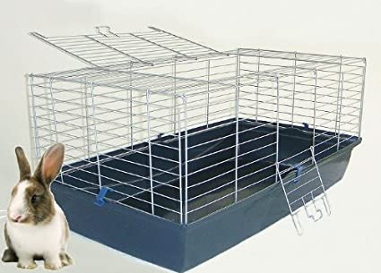 Heritage Indoor Large Bunny Hutch / Guinea Pig Cage 102cm x 53cm x 46cm