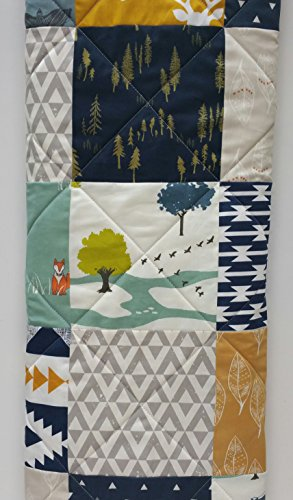 Modern Baby Quilt by Now and Then Quilts