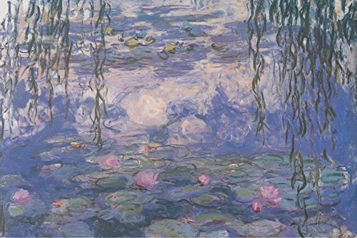 (Claude Monet Nympheas Water Lillies Art Print Poster 36x24 inch)