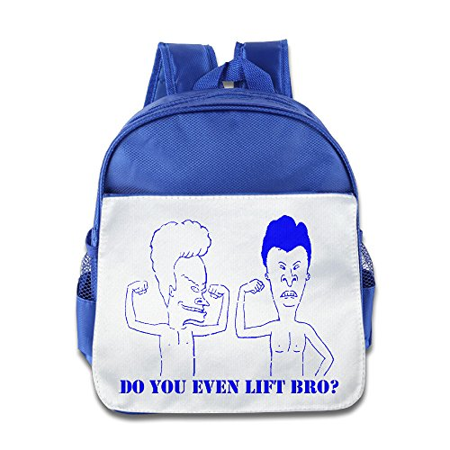[Kamici Beatiful Children Toddler Kid's Beavis & Butt-Head Schoolbag RoyalBlue One Size] (Beavis And Butthead Costume)