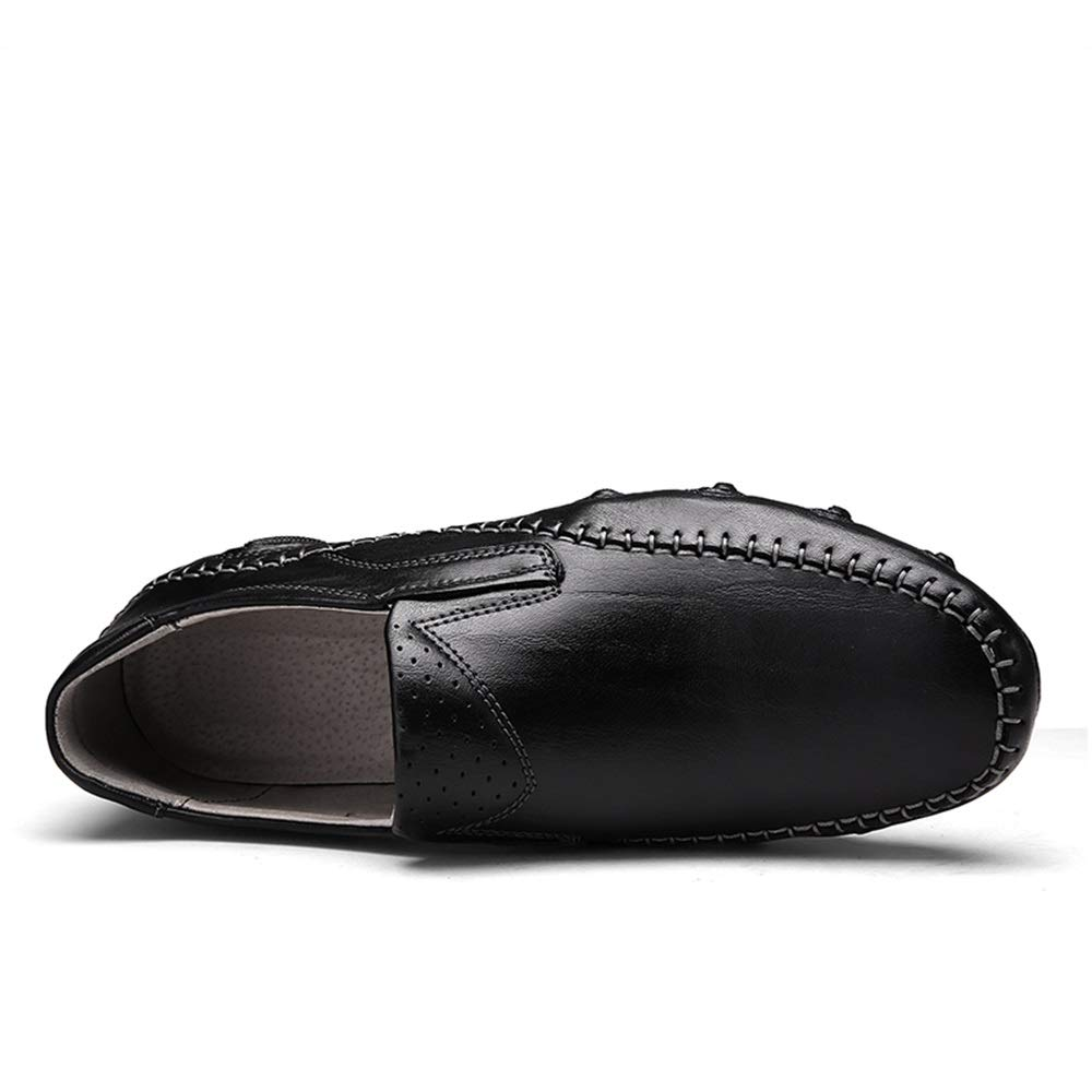 Chaussures Homme Mocassins 2019 Penny Loafers Hommes Chaussures Casual Antid/érapant Mocassin pour Hommes Slip on Style V/éritable en Cuir Perfor/é /À La Main /À La Couture Bateau Chaussures Yajie-shoes