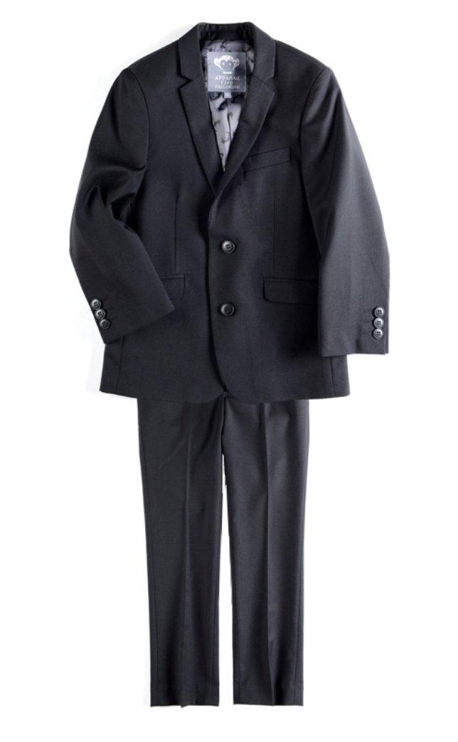 Appaman Boys Black Mod Suit Set (10, black)