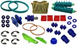 Tomcat® Rebuild KIT W/rubber Brushes Replacement for Aquabot® / Aqua Products P/n: Sp3302, 3506, 3201, 3002b, 8100, 8111, 3400b, A38205mg, A3600, 3500, 3700, Sp9204bl, 2600, & 2610