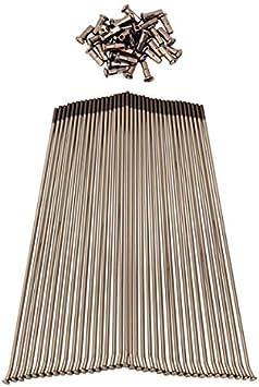 Protrax Pt1083 Stainless Steel Spoke Set Rear 18 Inch Honda Xr600R 1989-2009