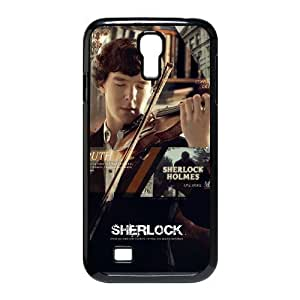 C-EUR Customized Sherlock Pattern Protective Case Cover for Samsung Galaxy S4 I9500