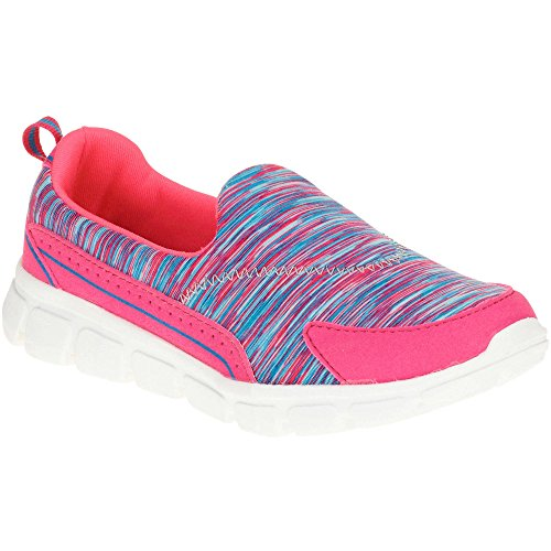 Accent Shoes Athletic Color on Girls' Multi Pink Danskin Now Slip Memory Foam wx14vHSq