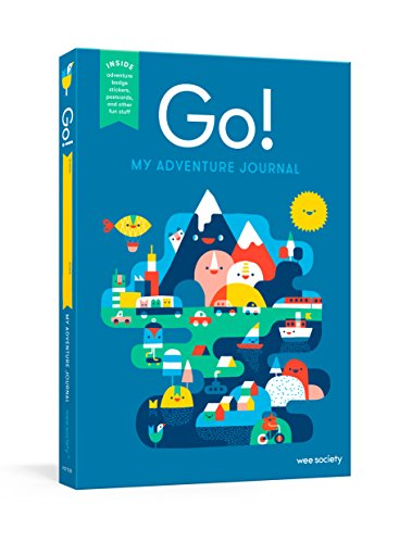 Go! (Blue): A Kids' Interactive Travel Diary and Journal (Wee Society) (Best Trips In Spain)