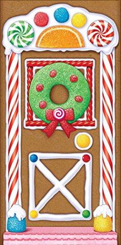 Beistle-Gingerbread-House-Door-Cover