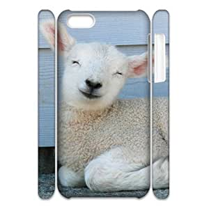 ALICASE Design Diy hard Case Sheep For Iphone 4/4s [Pattern-1]