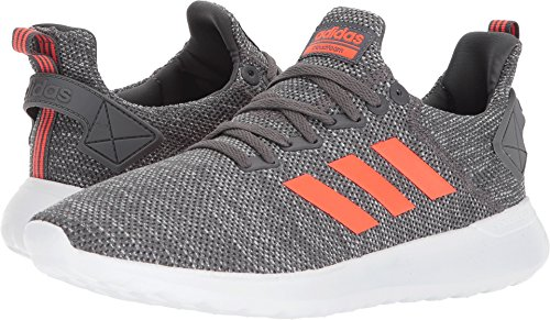 adidas Men's Lite Racer BYD Running Shoe, Grey Five/Solar Red/White, 8.5 M ()