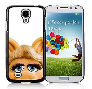 Samsung Galaxy S4 Miss Piggy Black Screen Cover Case Unique and Genuine Design