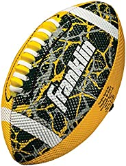 Franklin Sports Mini Football – Tacky Grip Cover – Easy Throw Spiral Lace System – Little Kids Indoor/Outdoor