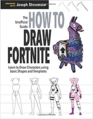 #10: How to Draw Fortnite: Learn to draw Skins, Weapons, Gliders, Characters and More Fortnite for Kids
