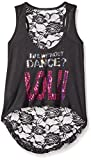 Gia-Mia Dance Girls LOL Lace Back Tank