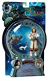 : The Golden Compass 3 Inch Action Figure - Lyra Belacqua with Pantalaimon Ermine and Wildcat Daemon Forms