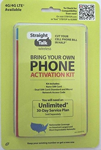 Straight Talk Bring Your Own Phone Sim Card - Verizon Smartphone Plan Card