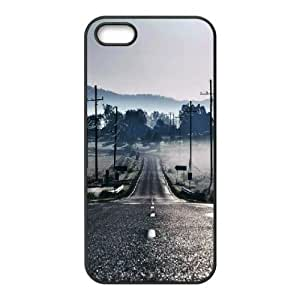 For SamSung Galaxy S3 Phone Case Cover Country Road Power Lines Hard Shell Back Black For SamSung Galaxy S3 Phone Case Cover 321671