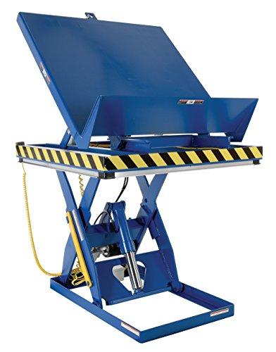 Tilt Scissor Table (Vestil EHLTT-H-3648-2-47 Lift and Tilt Platform Scissor Table, 2000 lb, 23.25
