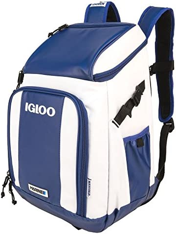 Igloo Marine Backpack-White Navy, White