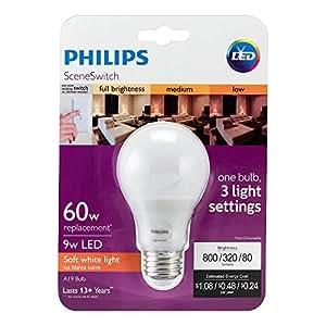 Philips 60W Equivalent, Soft White