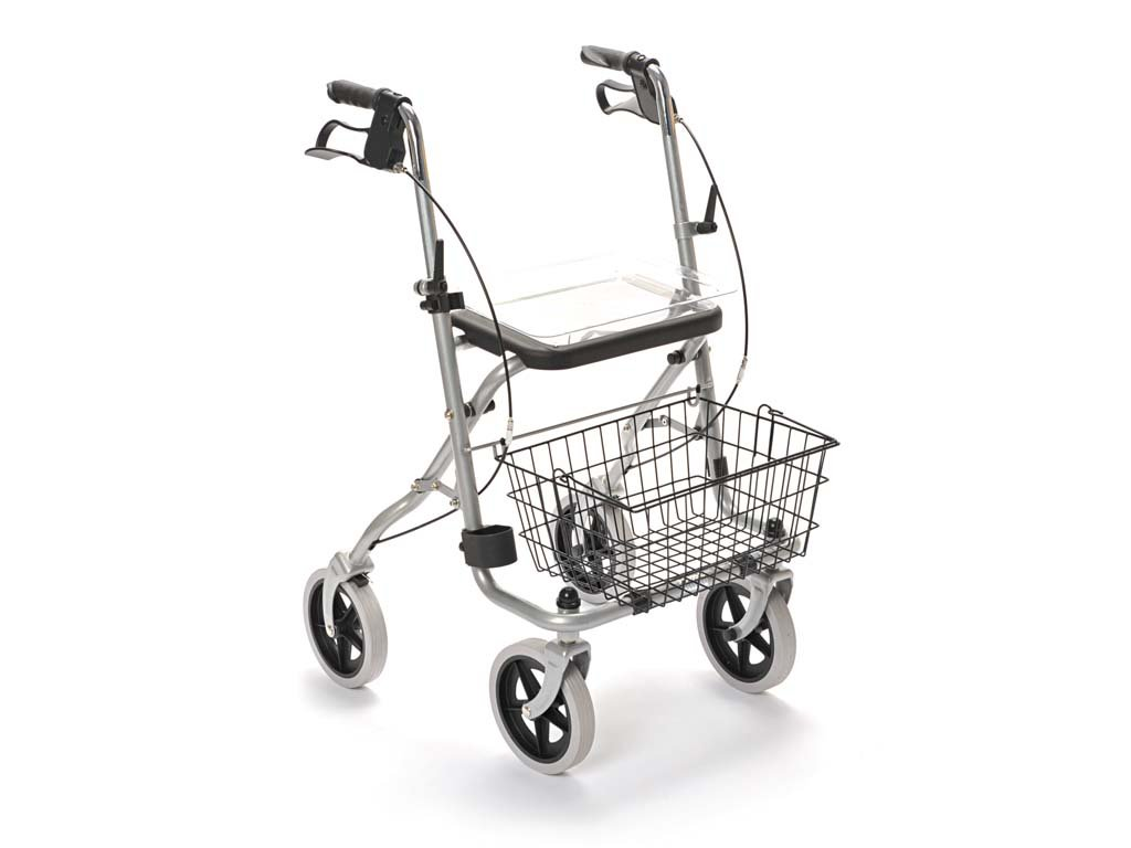 Drive Medical, Rad 190/35 Standard Rollator Migo, silber von Drive Medical
