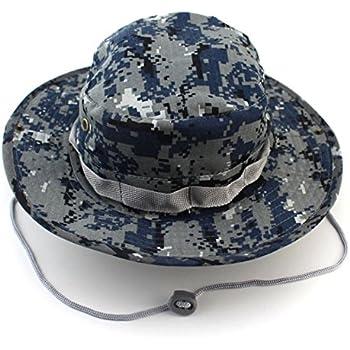 6343275f5c4 DECOU XIDAJE Fishing Snap Brim Military Bucket Sun Hat Cap Woodland Camo  Alternative Color