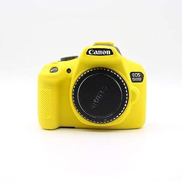 Funda de Silicona Carcasa de Silicona para cámara Canon EOS ...